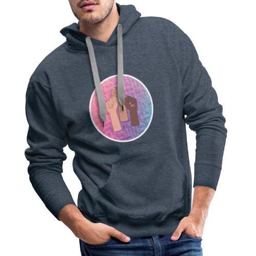 Femme power - Sweat-shirt à capuche Premium pour hommes