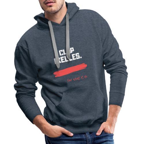 Ixelles transparent - Sweat-shirt à capuche Premium pour hommes