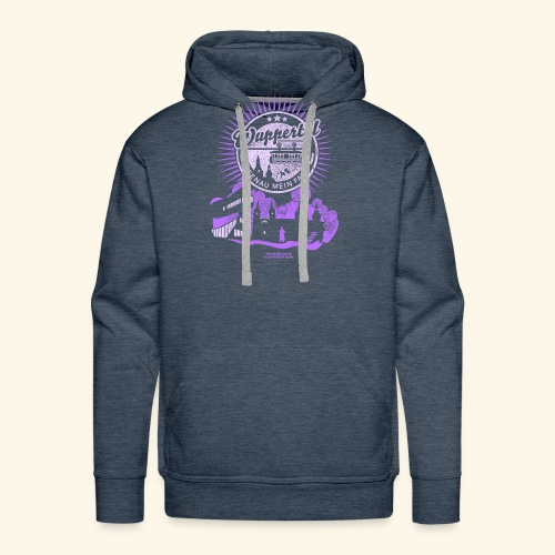 Wuppertal T Shirt Design Spruch Genau mein Fall - Männer Premium Hoodie