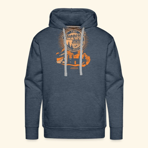 Wuppertal Genau mein Fall T Shirt Design - Männer Premium Hoodie