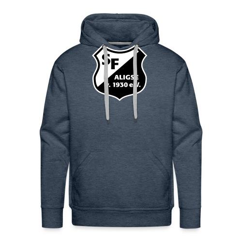 SFA_Wappen_schwarz weiß - Männer Premium Hoodie
