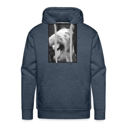lachender Esel - Männer Premium Hoodie