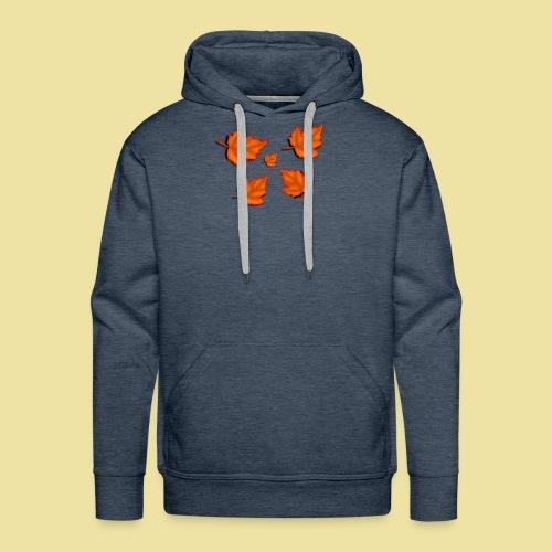 Herbstblätter - Männer Premium Hoodie