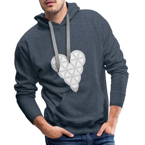 nThe Heart of Life x 1, New Design /Atlantis - 02. - Men's Premium Hoodie