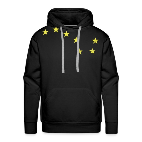 starry plough grunge - Men's Premium Hoodie