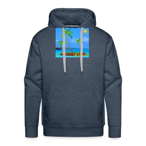 Cool summer coconu - Mannen Premium hoodie