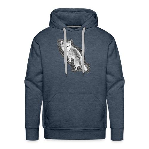 Chihuahua gezeichnet - Männer Premium Hoodie
