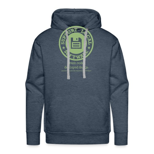 Fresh Code. Deployed Daily. - Men's Premium Hoodie