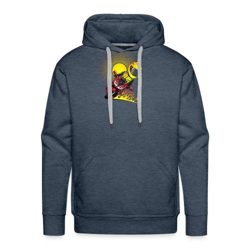 0791 fjr ROOD sun - Mannen Premium hoodie