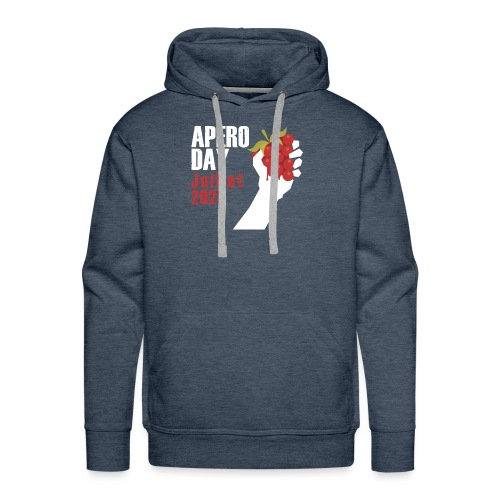 apero domaine dupraz - Sweat-shirt à capuche Premium pour hommes
