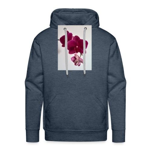 Orchideen lila - Männer Premium Hoodie