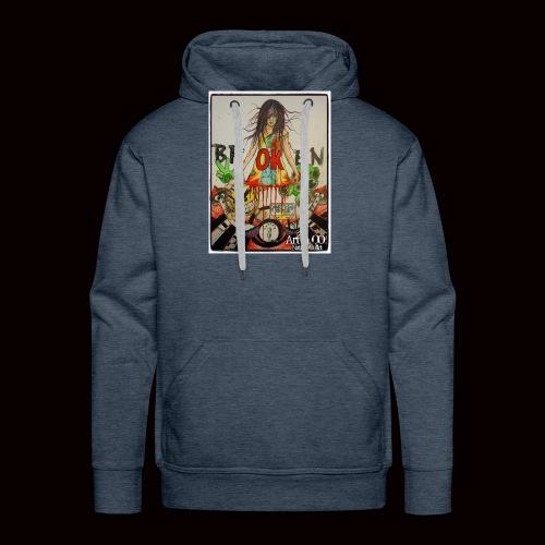 BrOKen - Sweat-shirt à capuche Premium pour hommes