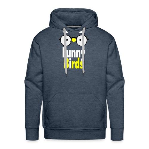Funny Birds - Miesten premium-huppari