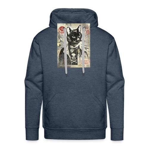 Cat Graffity - Männer Premium Hoodie