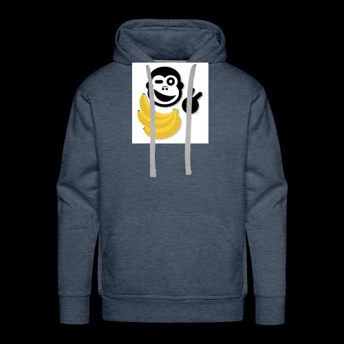 Treue Bananen Logo - Männer Premium Hoodie