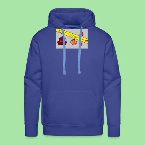 CONSERVER OU OD - Sweat-shirt à capuche Premium pour hommes