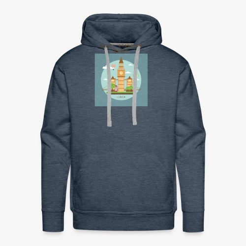 London Still standing mate! - Men's Premium Hoodie