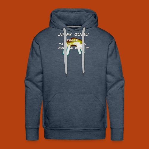 JIMMY GUIEU - Sweat-shirt à capuche Premium pour hommes
