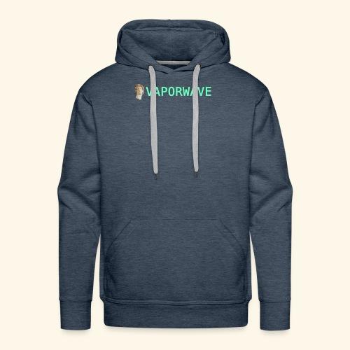 Roman Statue Vaporwave - Sweat-shirt à capuche Premium pour hommes
