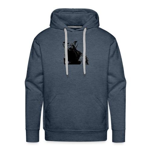 Angry Ray - Bluza męska Premium z kapturem