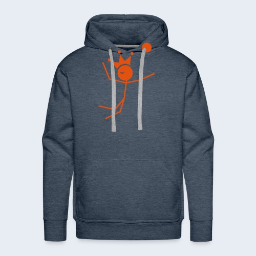 Volleybalkoning - Mannen Premium hoodie