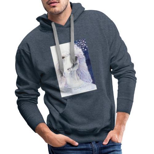 Poodle DreamDog - Herre Premium hættetrøje