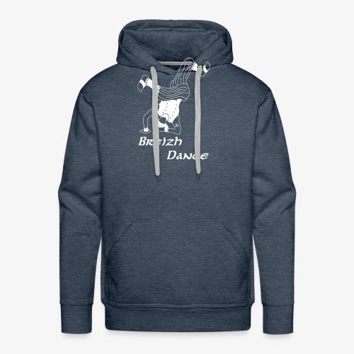 BZH Atypik Design - Breizh Dancer - Sweat-shirt à capuche Premium pour hommes