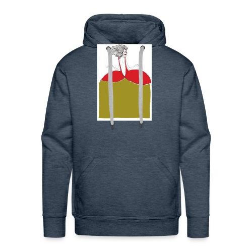 princesse - Sweat-shirt à capuche Premium pour hommes