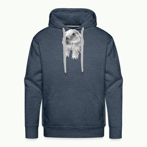 Bébé marmotton - Sweat-shirt à capuche Premium pour hommes