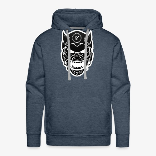ItsShayton Logo negro - Sudadera con capucha premium para hombre