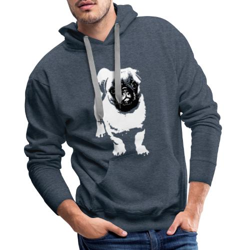 Mops Hund Hunde Möpse Geschenk - Männer Premium Hoodie