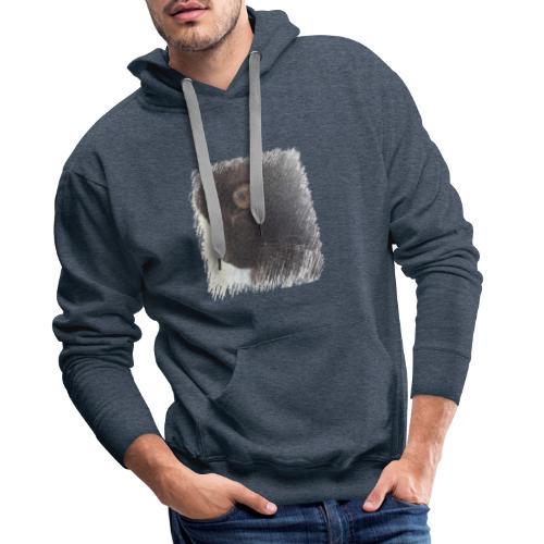chat - Sweat-shirt à capuche Premium pour hommes