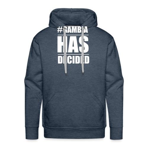 GAMBIA_HAS_DECIDED - Men's Premium Hoodie