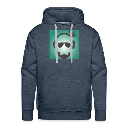 YouTube Test Logo jpg - Männer Premium Hoodie