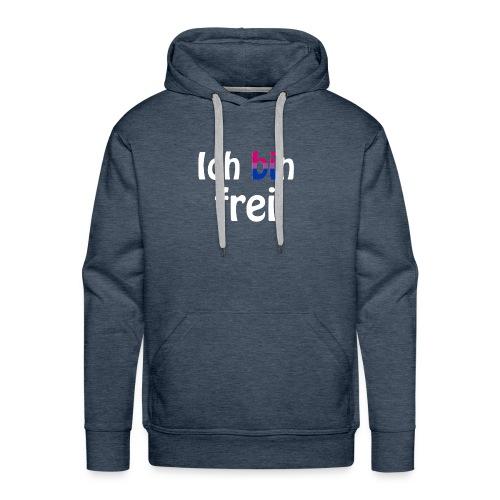 Ich bin frei - bisexuell - LGBT - Liebe - Freiheit - Männer Premium Hoodie