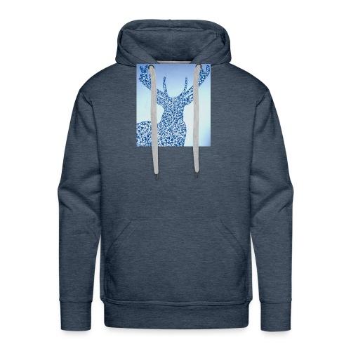 Cerf Chevreuil Chasse - Sweat-shirt à capuche Premium pour hommes