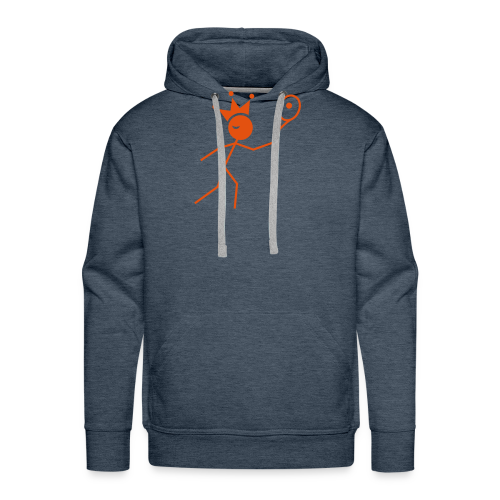 Tenniskoning - Mannen Premium hoodie