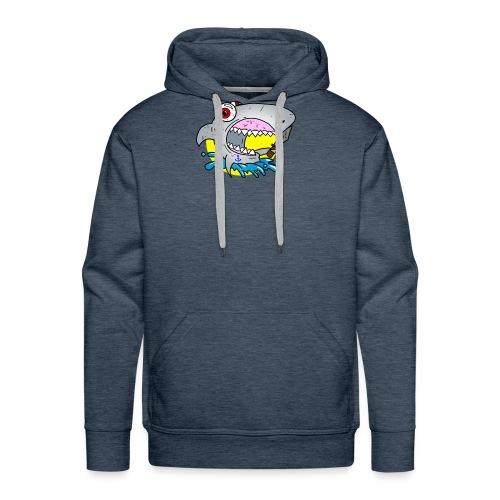 sharkatak - Sweat-shirt à capuche Premium pour hommes