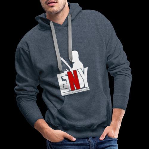 11 - Sweat-shirt à capuche Premium pour hommes