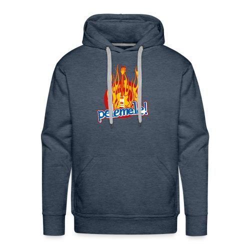Pelemele! Flammenshirt - Männer Premium Hoodie