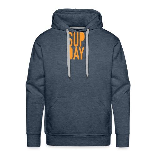 supday_apparel_orange - Mannen Premium hoodie