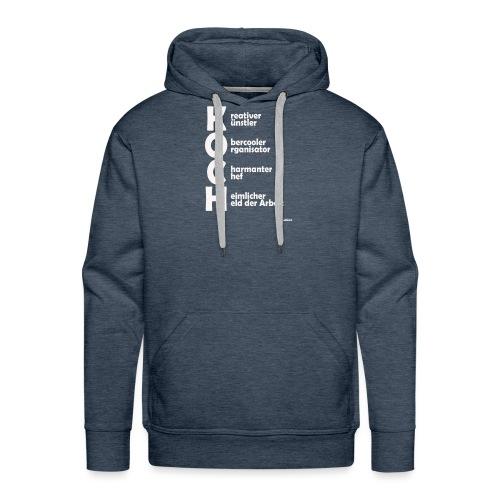 Was macht einen Koch aus? (Premium Shirt) - Männer Premium Hoodie
