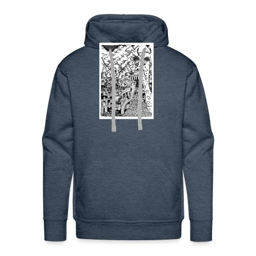 Sea Monsters T-Shirt by Backhouse - Men's Premium Hoodie