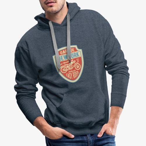 Garage New York - Sweat-shirt à capuche Premium pour hommes