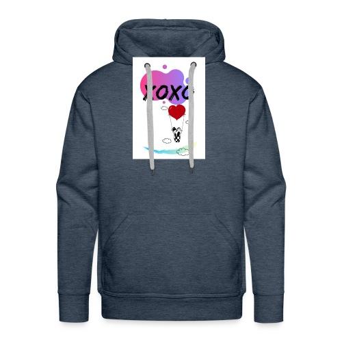 loveintheair - Sudadera con capucha premium para hombre