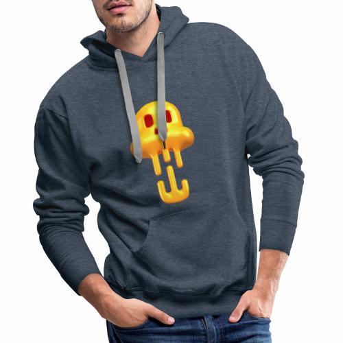 Skull Head - Sweat-shirt à capuche Premium pour hommes