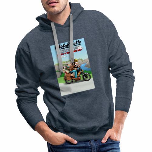 Affiche 2017 - Sweat-shirt à capuche Premium pour hommes