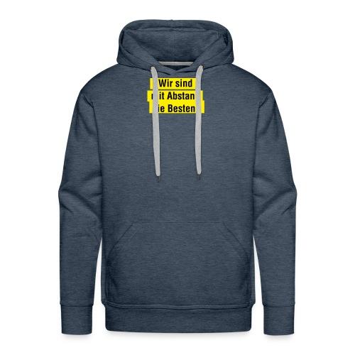 Abstand - Männer Premium Hoodie