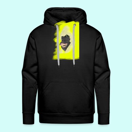 Gorille heureux - Sweat-shirt à capuche Premium pour hommes