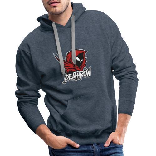 DeathroW - Sweat-shirt à capuche Premium pour hommes